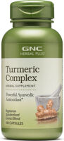 GNC Herbal Plus Turmeric Complex