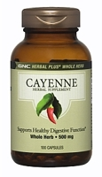 GNC Herbal Plus Whole Herb Cayenne
