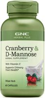 GNC Herbal Plus Whole Herb Cranberry Plus D-Mannose