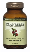 GNC Herbal Plus Whole Herb Cranberry