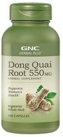 GNC Herbal Plus Whole Herb Dong Quai Root