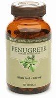 GNC Herbal Plus Whole Herb Fenugreek Herbal Supplement