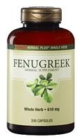 GNC Herbal Plus Whole Herb Fenugreek