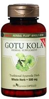 GNC Herbal Plus Whole Herb Gotu Kola