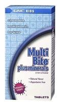GNC Kid's MultiBite plus minerals Multivitamin