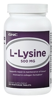 GNC L-Lysine 500 mg