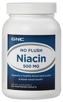 GNC No Flush Niacin 500 MG