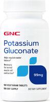 GNC Potassium Gluconate 99