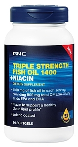 Essential fatty acids compare products at priceplow for Gnc triple strength fish oil 1500
