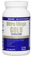 GNC Ultra Mega Gold without iron