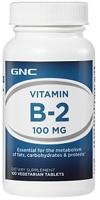GNC Vitamin B-2 100 MG