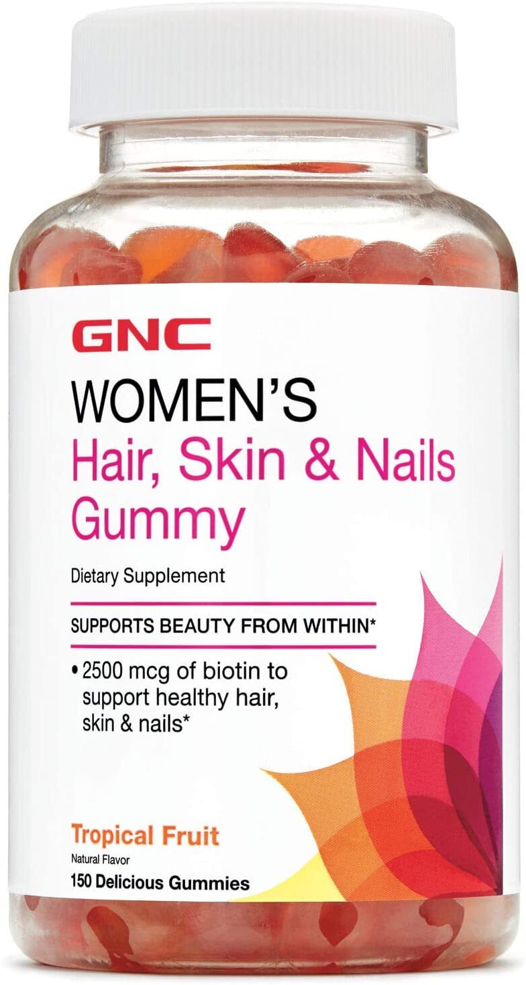 GNC Women's Hair, Skin & Nails Gummy | Save at PricePlow