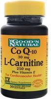 Good 'n Natural Co Q-10 L-Carnitine plus Vitamin E