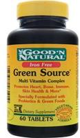 Good 'n Natural Green Source Multi Vitamin Complex - Iron Free