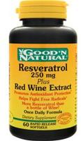Good 'n Natural Resveratrol Plus Red Wine Extract