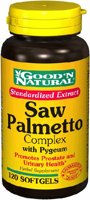 Good 'n Natural Saw Palmetto Complex Extract with Pygeum