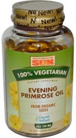 Health From The Sun 100% Vegetarian Evening Primrose Oil