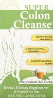 Health Plus Super Colon Cleanse Peppermint Tea Blend