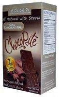 HealthSmart ChocoRite Solid Chocolate Bars