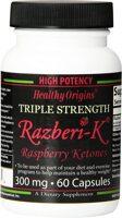 Healthy Origins Razberi-K, Raspberry Ketones