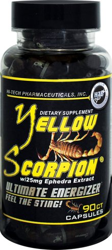 Hi-Tech Pharmaceuticals Yellow Scorpion