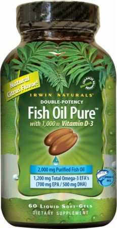 Irwin naturals news reviews prices at priceplow for How much fish oil per day bodybuilding