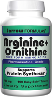 Jarrow Formulas Arginine plus Ornithine
