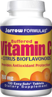Jarrow Formulas Buffered Vitamin C + Citrus Bioflavanoids