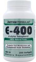 Jarrow Formulas E-400 (d-alpha Tocopherol)