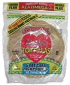 Joseph's Middle East Bakery Reduced Carb/Flax, Oat Bran & Whole Wheat Tortillas