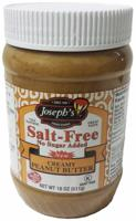 Joseph's Salt-Free, No Sugar Added, Peanut Butter