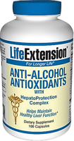 Life Extension Anti-Alcohol Antioxidants