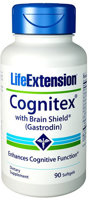 Life Extension Cognitex with Brain Shield