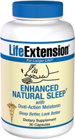 Life Extension Enhanced Natural Sleep (with Melatonin)