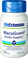 Life Extension MacuGuard Ocular Support