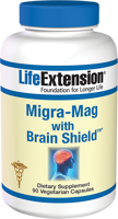 Life Extension Migra-Mag with Brain Shield