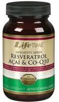 LifeTime Resveratrol Acai & Co-Q10