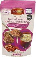Linwoods Flaxseed, Almonds, Brazil Nuts, Walnuts & Q10