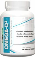 LiveLong Nutrition Omega-D3