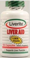 Liverite Liver Aid plus Milk Thistle