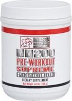 Mass Machine Nutrition MM200 Pre-Workout SUPREME