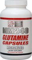 Mass Machine Nutrition MM240 Micronized Glutamine Capsules