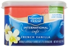 Maxwell House Sugar Free International Cafe Beverage Mix