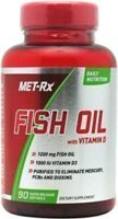 Met-Rx Fish Oil with Vitamin D