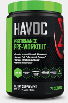 MFit Supps HAVOC: Ben's Current Go-To Pre Workout