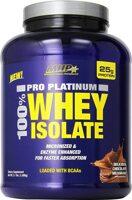 MHP Pro Platinum 100% Whey Isolate