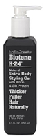 Mill Creek Botanicals Biotene H-24 Natural Extra Body Styling Gel With Biotin & Silk Protein