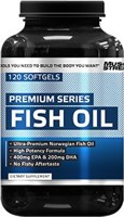 Muscle and Strength Premium Series Fish Oil
