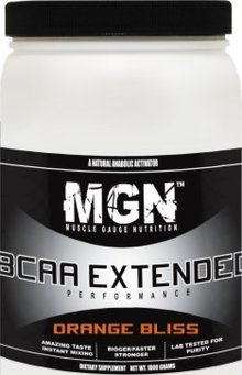 Muscle Gauge Nutrition BCAA Extended