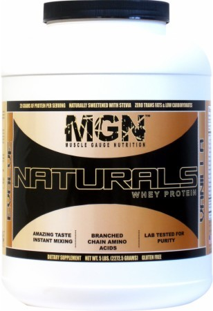 Muscle Gauge Nutrition Naturals Whey